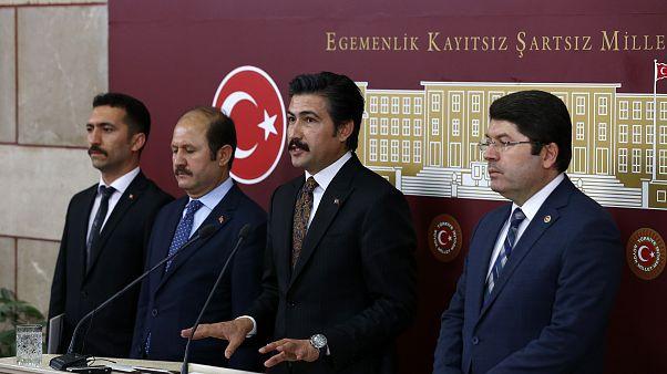 AK Parti ve MHP gruplarının ortak hazırladığı infaz düzenlemesine ilişkin kanun teklifi TBMM Başkanlığına sunuldu