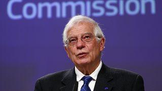 AB Dış İlişkiler ve Güvenlik Politikası Yüksek Temsilcisi Josep Borrell