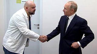 Putin'e hastane gezdiren başhekimin Covid-19 testi pozitif çıktı