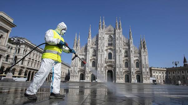 Италия: ещё 837 погибших и надежды пройти пик эпидемии