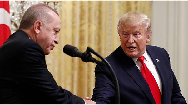 ترامب وإردوغان يشددان على ضرورة الالتزام بوقف إطلاق النار في سوريا وليبيا