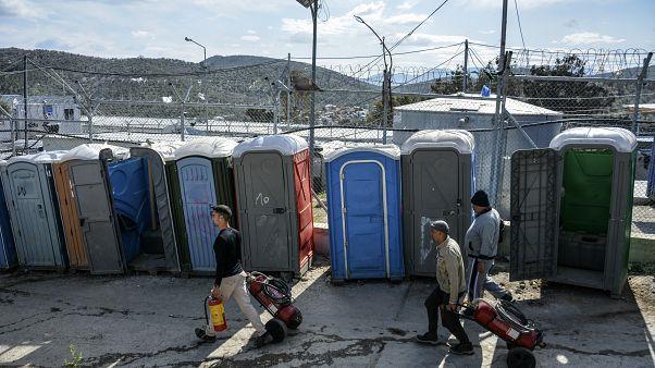 Flüchtlingslager in Griechenland
