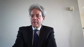 "Paolo Gentiloni says the EU prepares a ""general recovery plan"" from coronavirus crisis"