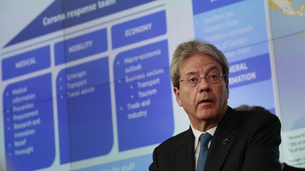 Bruselas vaticina un desplome de la economía europea