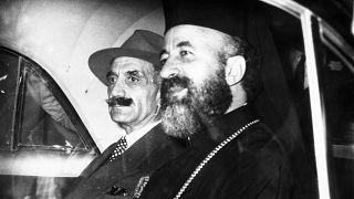 Ο Αρχιεπίσκοπος Μακάριος και ο Γεώργιος Γρίβας Διγενής