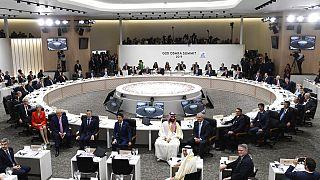 Japonya Osaka'da yapılan son G20 Zirvesi'nden bir kare