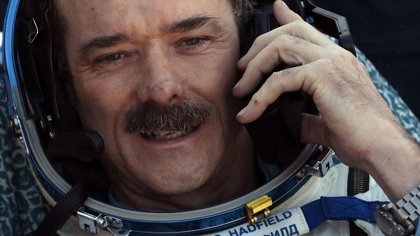 Chris Hadfield returns from the ISS