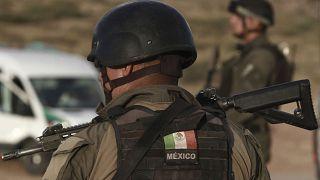 Meksika polisinin uyuşturucu kartelleri ile mücadelesi devam ediyor (2019 /AP)