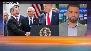 Coronavirus : comment le discours de Donald Trump a progressivement changé de ton