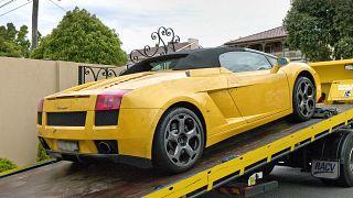 سيارة لومبورغيني/ صورة توضيحية