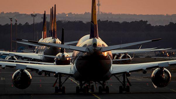 Coronavirus: ci sono abbastanza posti per parcheggiare tutti gli aerei a terra?
