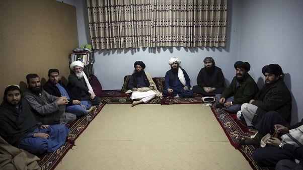 Afganistan'ın başkenti Kabil'deki Pul-i Çarhi Cezaevi'ndeki Taliban üyesi mahkumlar