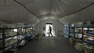 APTOPIX Virus Outbreak Washington