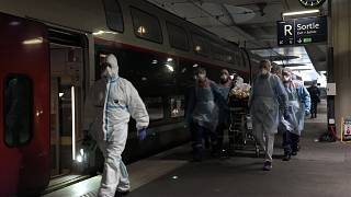 COVID-19 patients transferred away to ease pressure on Paris hospitals