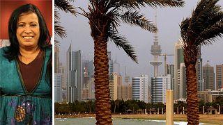 الممثلة الكويتية حياة الفهد - صورة من ويكيبيديا