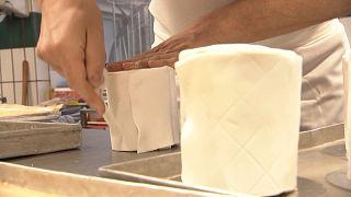 WC-papír - süteményből