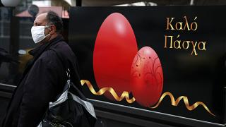 Virus Outbreak Greece Orthodox Easter