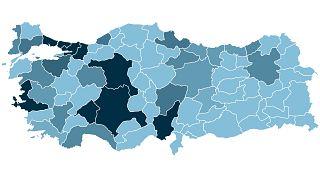 Türkiye'de hangi ilde ne kadar koronavirüs (Covid-19) vakası görüldü?