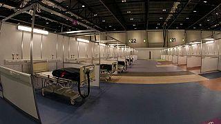 Novo hospital de campanha em Londres