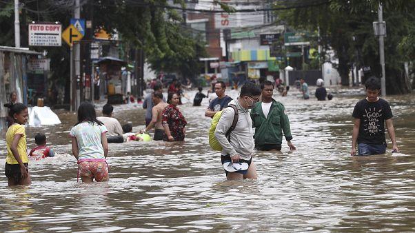 Endonezya'da sel felaketi