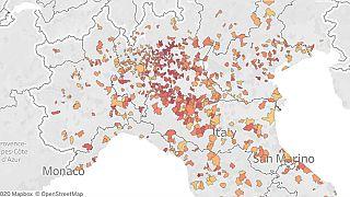 Coronavirus, la mappa dei decessi a marzo 2020 e il confronto con il 2019