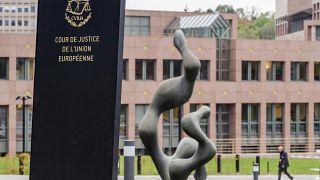 The European Court of Justice in Luxembourg, October 2015. (AP Photo/Geert Vanden Wijngaert, FILE)