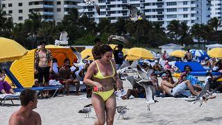 الحفلات الطلابية في شواطئ ميامي في الولايات المتحدة