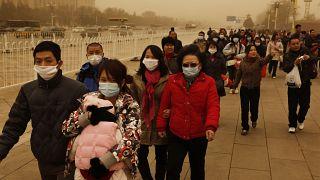 مسألة إرتداء الكمامات في آسيا قبل أزمة فيروس كورونا المستجد