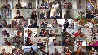 Virale Hausmusik - in Kompaniestärke