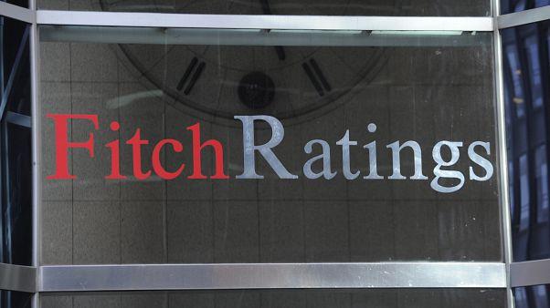Kredi derecelendirme kuruluşu Fitch Ratings binası New York