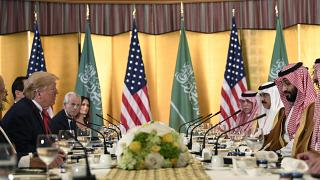 ABD Başkanı Donald Trump, Suudi Arabistan Veliaht Prensi Muhammed bin Salman
