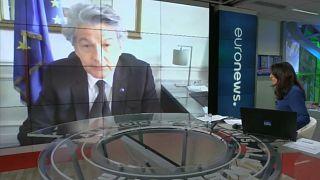 «Θα στηρίξουμε την οικονομία» - Ο Επίτροπος Εσωτερικής Αγοράς στο euronews