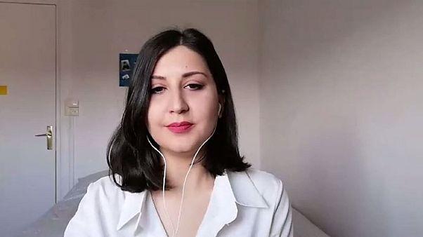الصحفية السورية رنيم الداغستاني