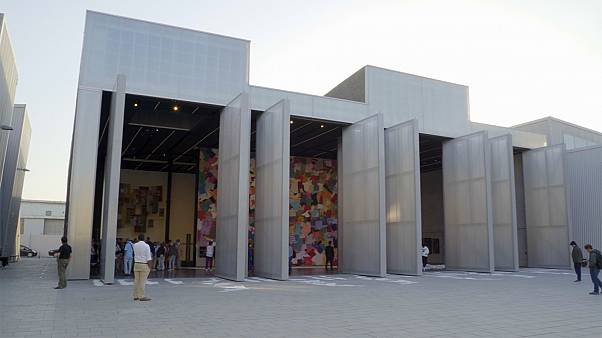 Dubai'nin eski sanayi bölgesi, bugünün önde gelen sanat merkezi oldu