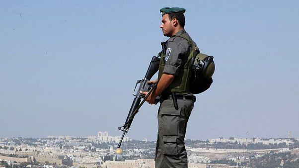 عکس آرشیوی از سرباز اسرائیلی