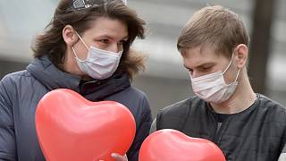 UKRAINE-HEALTH-VIRUS-DAILY-LIFE