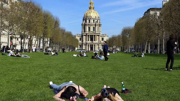 A sunny weekend is ahead for parts of Europe