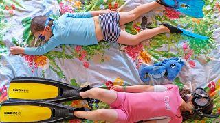 Coronavirus, viaggi immaginari da casa: l'idea di una famiglia per intrattenere i bimbi