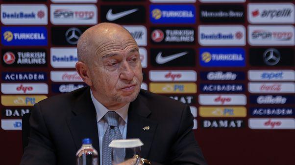 Türkiye Futbol Federasyonu (TFF) Başkanı Nihat Özdemir
