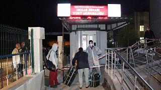 Covid-19 tedbirleri kapsamında işçi olarak çalıştıkları Irak'tan Türkiye'ye getirilen 334 Türk vatandaşı, Kütahya'da öğrenci yurduna yerleştirildi