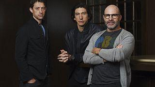 Salgın filminin senaristi Scott Burns (En sağda)