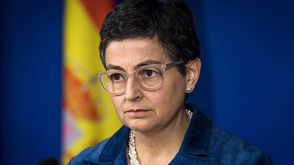 İspanya Dışişleri Bakanı Laya, solunum cihazları taşıyan uçağın Türkiye'de bloke edildiğini söyledi