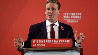 Új vezető a brit Munkáspárt élén