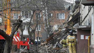 انفجار في مبنى سكني قرب موسكو بسبب تسرب للغاز