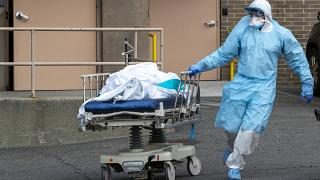 Mais de 1200 mortos nos EUA em 24 horas