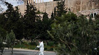 شیوع کرونا در یونان؛ دومین اردوگاه مهاجران نیز قرنطینه شد