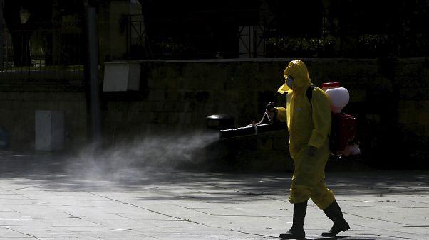 Virus Outbreak Cyprus
