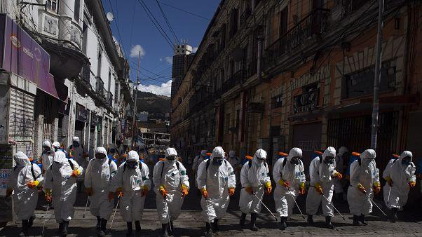 El rápido avance del COVID-19 en América Latina preocupa a la Organización Panamericana de la Salud