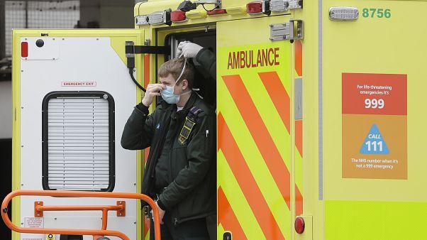 Virus Outbreak Britain Health Service