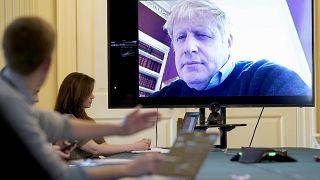 Primeiro-ministro britânico hospitalizado
